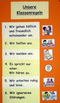 Klassenregeln grundschule bildkarten  Klassenregeln Grundschule Bildkarten ~ Dekoration, Inspiration ...